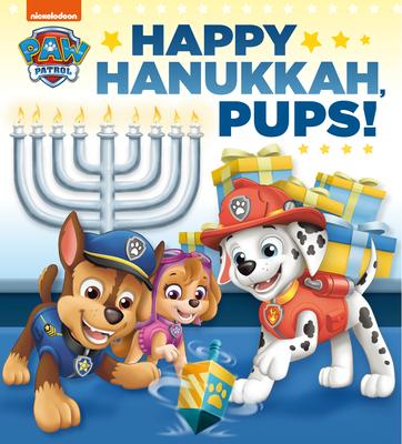 Happy Hanukkah, Pups! (PAW Patrol) Cover Image