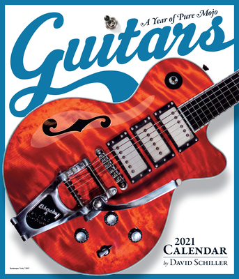 Guitars Wall Calendar 2021 Cover Image