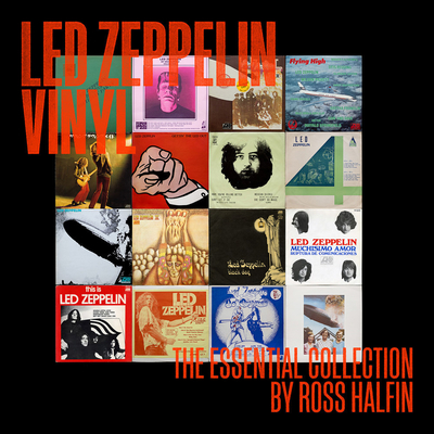 Led Zeppelin Vinyl: The Essential Collection Cover Image