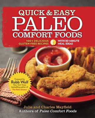 Quick & Easy Paleo Comfort Foods Cover