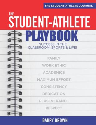The Student-Athlete Playbook: Student Journal Cover Image