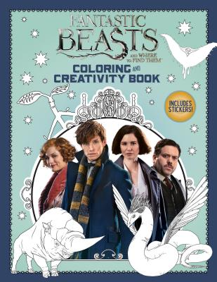 Coloring and Creativity Book (Fantastic Beasts and Where to Find Them) Cover