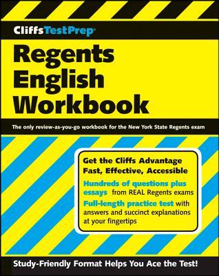 CliffsTestPrep Regents English Workbook Cover Image