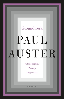 Groundwork: Autobiographical Writings, 1979–2012 Cover Image