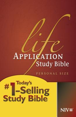 Life Application Study Bible-NIV-Personal Size Cover Image