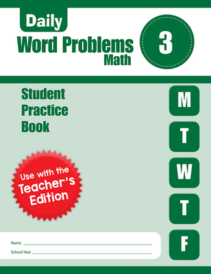 Daily Word Problems, Grade 3 Sb Cover Image