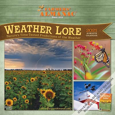 Farmers' Almanac Weather Lore 2021 Square Cover Image