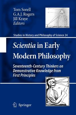 Cover for Scientia in Early Modern Philosophy