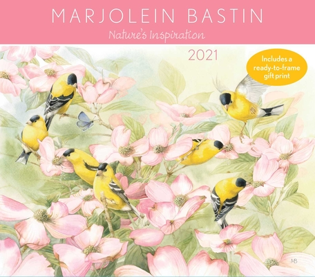 Marjolein Bastin Nature's Inspiration 2021 Deluxe Wall Calendar Cover Image