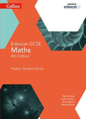 Collins GCSE Maths — Edexcel GCSE Maths Higher Student Book Cover Image