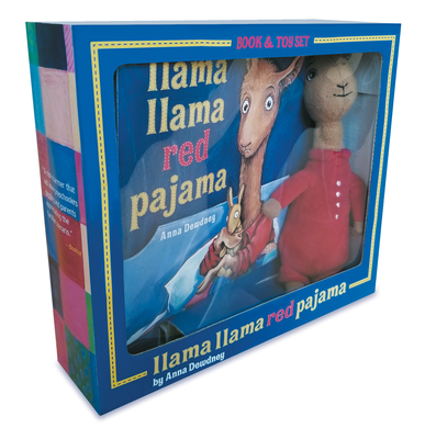 Llama Llama Red Pajama Book and Plush Cover Image