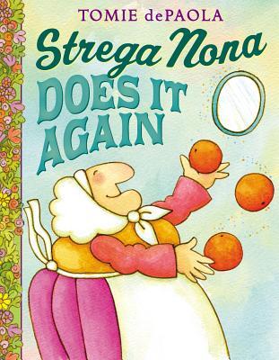 Strega Nona Does It Again Cover Image
