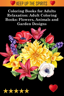 Coloring Books for Adults Relaxation Cover Image