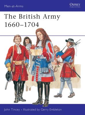 The British Army 1660-1704 Cover