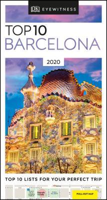 DK Eyewitness Top 10 Barcelona (Pocket Travel Guide) Cover Image