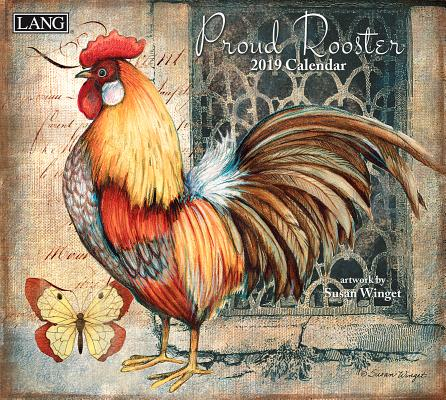 Proud Rooster 2019 14x12.5 Wall Calendar Cover Image