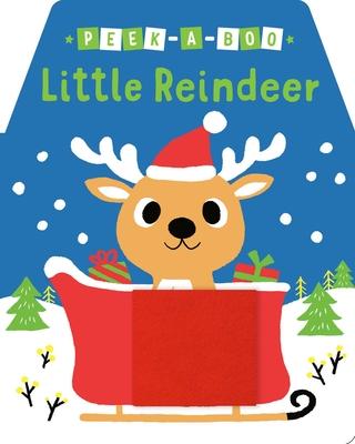 Peek-a-Boo Little Reindeer Cover Image