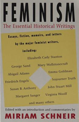 Feminism: The Essential Historical Writings Cover Image