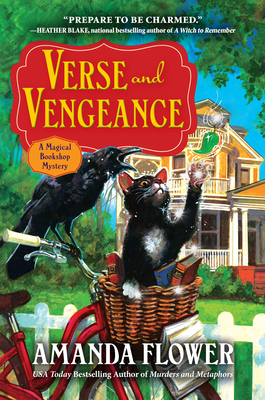 Verse and Vengeance: A Magical Bookshop Mystery Cover Image