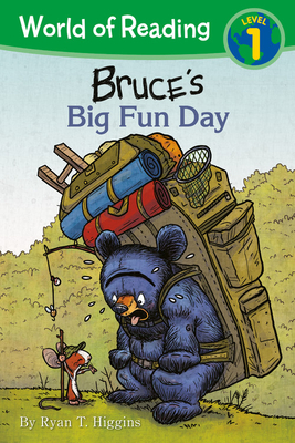 World of Reading: Mother Bruce Bruce's Big Fun Day: Level 1 Cover Image