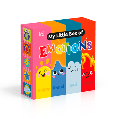 My Little Box of Emotions: Little guides for all my emotions Five-book box set (First Emotions?) Cover Image