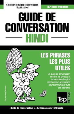 Guide de conversation Français-Hindi et dictionnaire concis de 1500 mots (French Collection #148) Cover Image