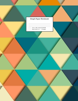 Graph Paper Notebook: Grid Paper Notebook 110 Sheets Large 8.5 x 11 Quad Ruled 5x5: Grid Paper Notebook 110 Sheets Large 8.5 x 11 Quad Ruled Cover Image