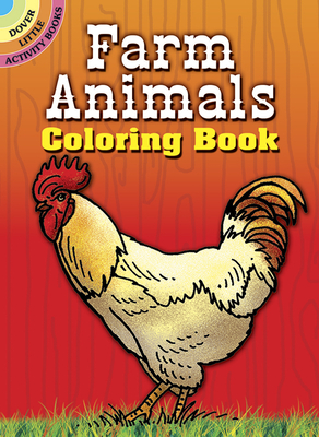 Farm Animals Coloring Book (Dover Little Activity Books) Cover Image