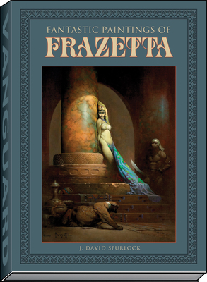 Fantastic Paintings of Frazetta Cover Image