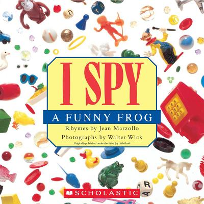 I Spy a Funny Frog Cover Image