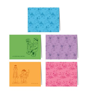 Sesame Street Notecards: 10 Notecards and Envelopes Cover Image