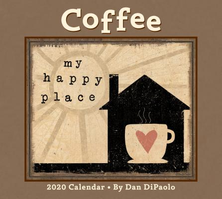 Coffee 2020 Deluxe Wall Calendar Cover Image