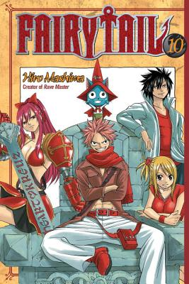 Fairy Tail V10 Cover
