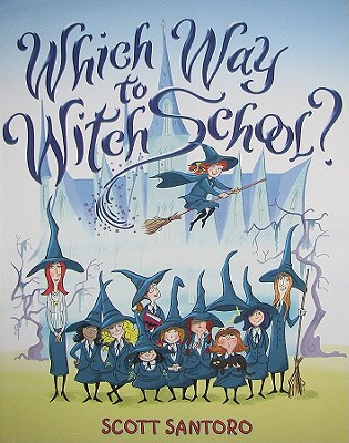 Which Way to Witch School? Cover