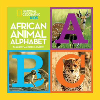 African Animal Alphabet Cover