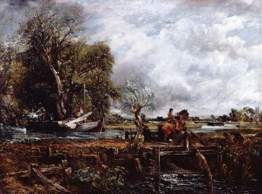 John Constable: The Leaping Horse Cover Image