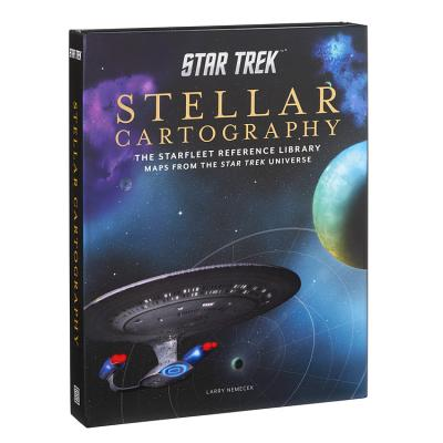 Star Trek: Stellar Cartography: The Starfleet Reference Library Maps from the Star Trek Universe Cover Image