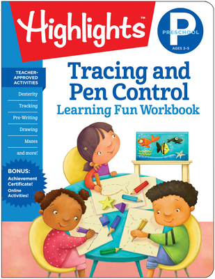 Preschool Tracing and Pen Control (Highlights Learning Fun Workbooks) Cover Image
