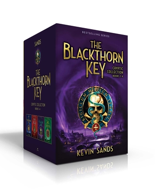 The Blackthorn Key Cryptic Collection Books 1-4: The Blackthorn Key; Mark of the Plague; The Assassin's Curse; Call of the Wraith Cover Image