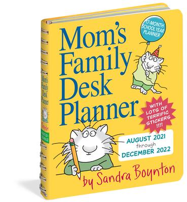 Mom's Family Desk Planner 2022 Cover Image
