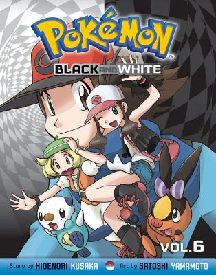 Pokemon Black and White, Volume 6 Cover