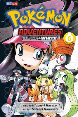 Pokémon Adventures: Black and White, Vol. 6 Cover Image