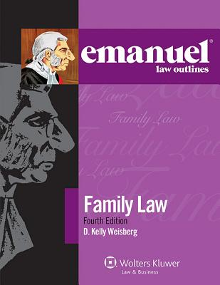 Emanuel Law Outlines for Family Law Cover Image