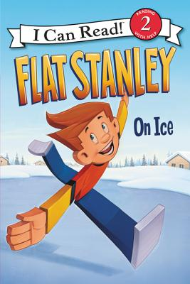 Flat Stanley: On Ice (I Can Read Level 2) Cover Image