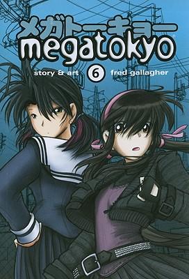 Megatokyo, Volume 6 Cover