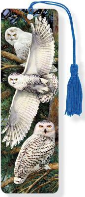 3D Bkmk Snowy Owl Cover Image