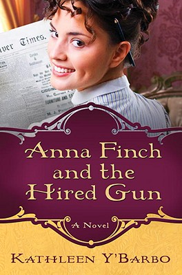 Anna Finch and the Hired Gun Cover