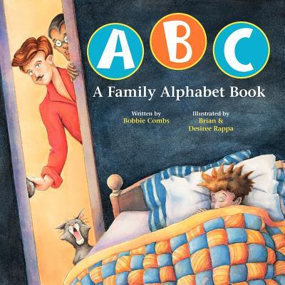 ABC A Family Alphabet Book Cover Image