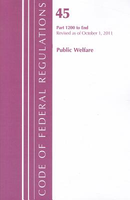 Public Welfare, Part 1200 to End Cover Image