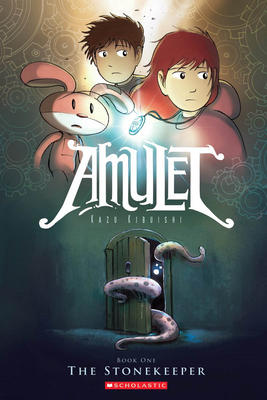 The Stonekeeper (Amulet #1) Cover Image